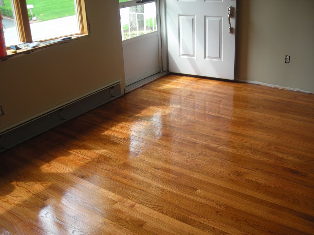 wood floor refinishing sanding in burlington ma