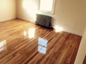 wood floor refinishing and stain removal in Waltham, MA