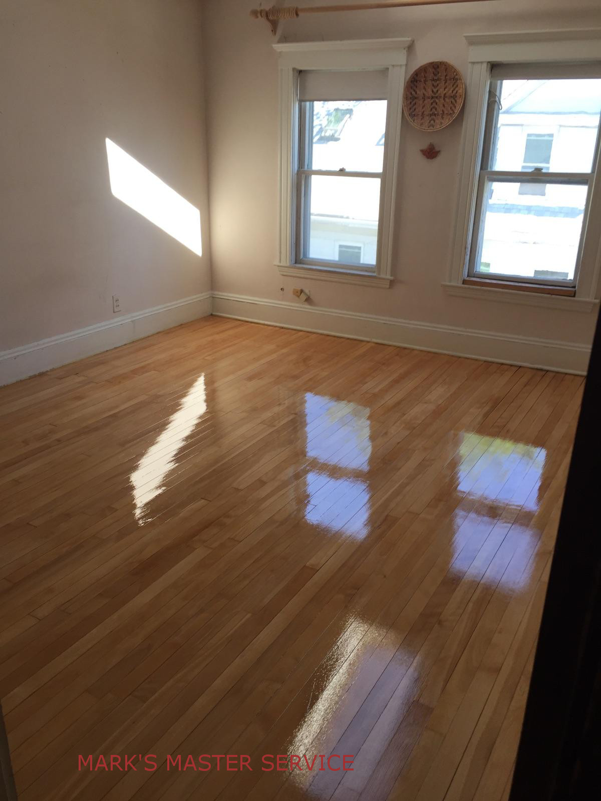 Before and after pictures in Watertown… Client is getting the house ready  for sale… And they must have beautiful floors! Read More - Mark's Master Service Wood Floor Refinishing, Sanding