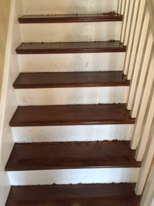 wood floor staining, carpet removal, sanding, wood floor refinishing, weston_ma