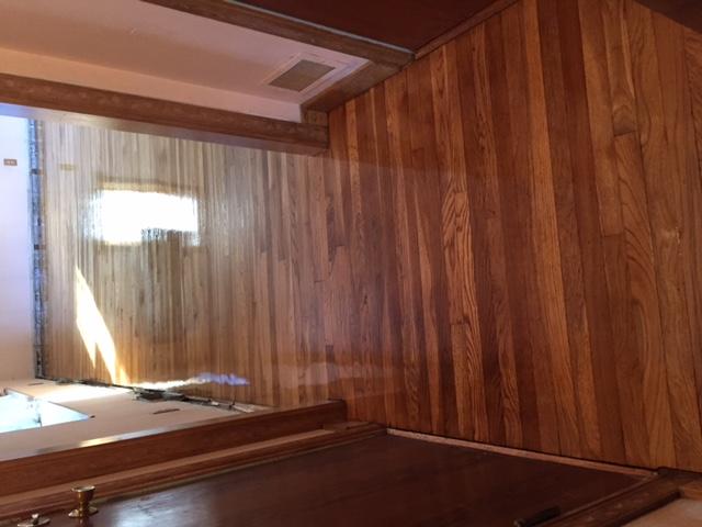 woodfloor sanding, woodfloor refinish, polyurethane finish, bedford_ma