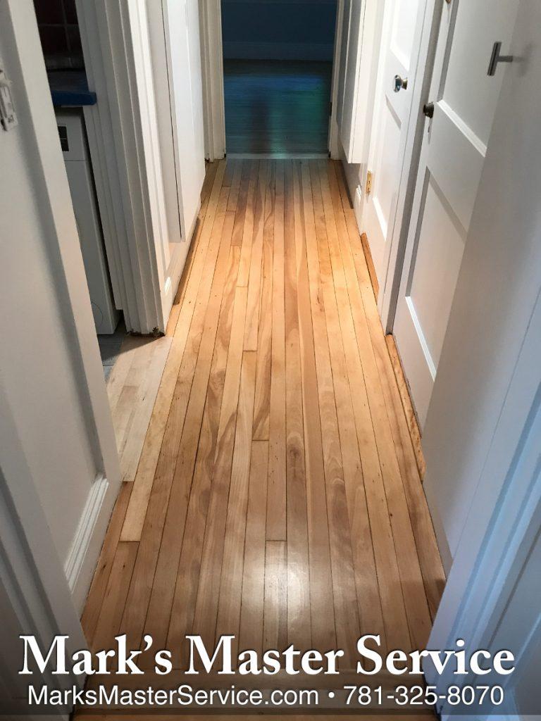 100 Year Old Maple Wood Floors