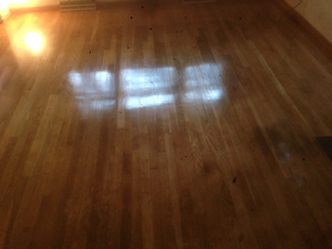 wood floor refinishing in Westford, Massachusetts by Marks Master Service, Inc