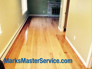 After Floor sanding in Lowell, MA