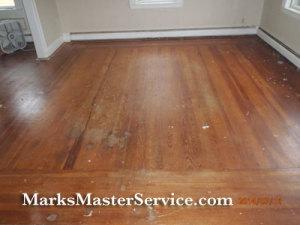 Damaged Wood Floor-Arlington, MA