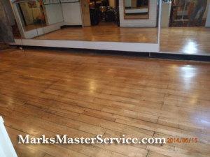 Dance Floor Refinishing - Lexington, MA by Mark's Master Service