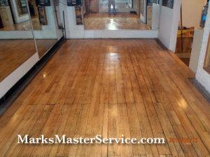 Floor Refinishing Lexington MA by Mark's Master Service