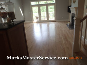 Wood Floor Polishing (restoration without sanding)in Winchester, MA by Mark's Master Service
