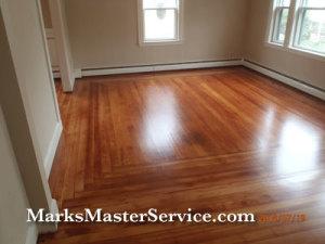 Floor Refinishing Arlington, MA by Mark's Master Service