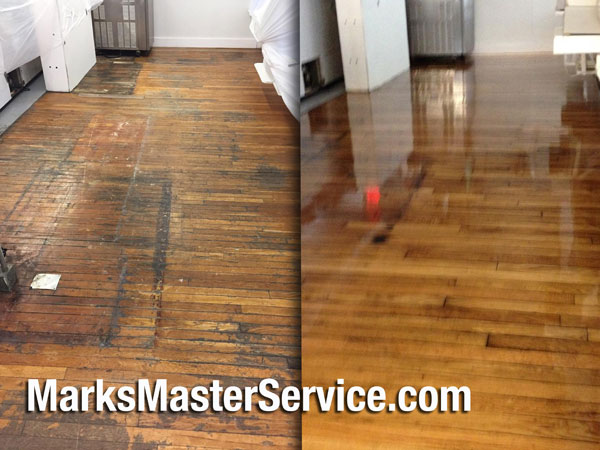 Before & After Wood Floor Refinishing Photos - Newburyport Floor Refinishing In Mark's Master Service